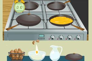 《葱花摊鸡蛋》游戏画面1