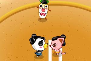 《小动物相扑大赛》游戏画面1