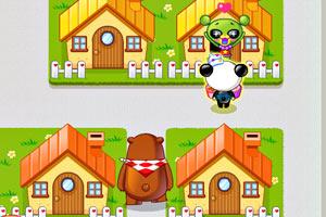 《小熊猫送外卖》游戏画面1