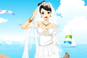《海边美丽新娘》游戏画面1