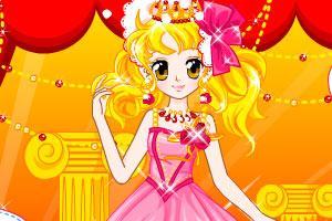 《水晶之恋公主装》游戏画面1