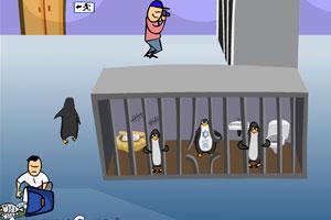 《企鹅逃出动物园》游戏画面1