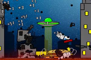 《飞碟销毁3-世界末日》游戏画面1