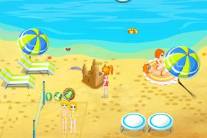 《经营海滩浴场》游戏画面1