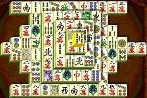 《上海麻将连连看》游戏画面1