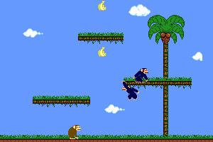 《小猴吃香蕉》游戏画面1