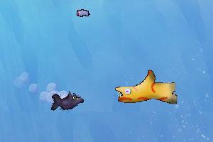 《深海饥饿小鱼》游戏画面1
