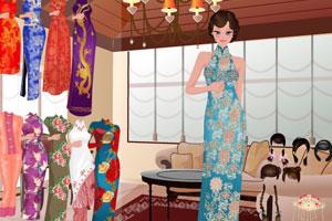 《古装旗袍中国美人》游戏画面1