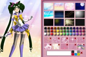 《美少女战士唯美换装》游戏画面1