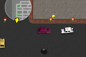 《小小出租车V0.7》游戏画面1