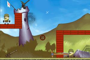 《大炮轰士兵2》游戏画面1