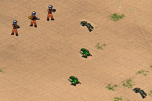 《沙漠之战》游戏画面1