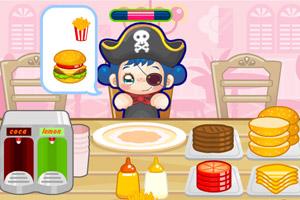 《可爱汉堡店》游戏画面1