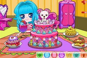 《小可爱开蛋糕派对》游戏画面1