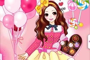 《粉红糖果屋》游戏画面1