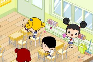 《大头妹校园生活》游戏画面1