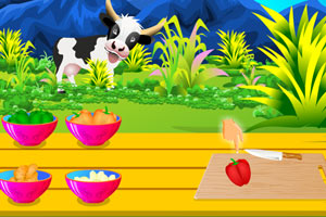 《小炒蔬菜》游戏画面1