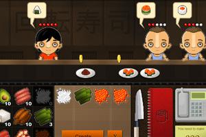 《回转寿司小小店》游戏画面1