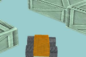 《3D大脚迷宫》游戏画面1