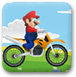 马里奥骑自行车