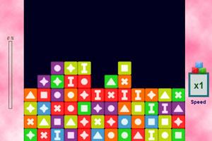 《彩色方块连连看》游戏画面1