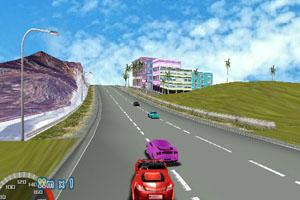 《3D极速飙车》游戏画面1