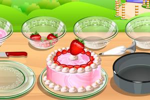 《草莓奶油蛋糕》游戲畫面1