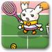 萌兔網球練習