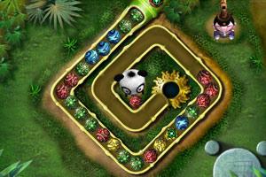 《功夫祖玛》游戏画面1