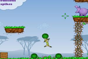 《河马吃西瓜》游戏画面1