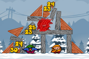 《不愤怒的小鸟》游戏画面1