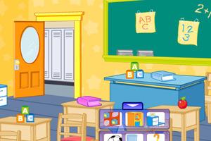 《设计新学期教室》游戏画面1