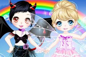 可爱天使与魔鬼