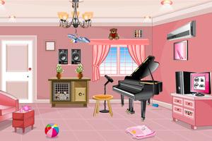 《钢琴室逃生》游戏画面1