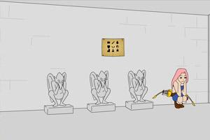 《搞怪太郎密室脱出》游戏画面1