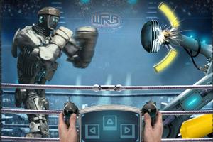 《铁甲钢拳拳击训练》游戏画面1