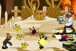 《植物大战僵尸之疯狂大叔无敌版》游戏画面1
