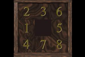 《九宫格数字排序挑战版》游戏画面1