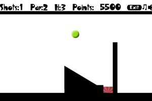 《投篮式高尔夫》游戏画面1