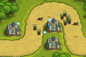 《皇家守卫军1.05中文无敌版》游戏画面1