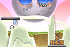 《炸彩块3喂怪兽无敌版》游戏画面1