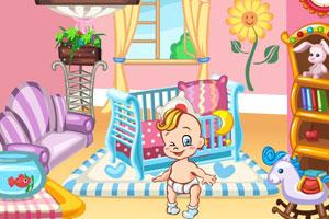 《布置婴儿房间》游戏画面1