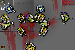 《一刀削僵尸》游戏画面1