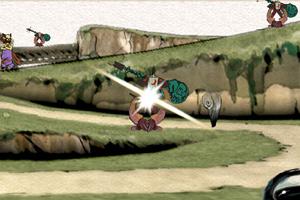 《毛笔切怪物》游戏画面1