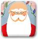 圣誕老人刮胡子