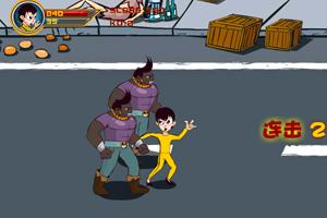 《小龙街霸》游戏画面1