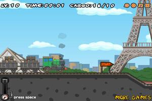 《装卸运煤火车5选关版》游戏画面1