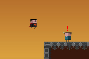 《方块超人拯救任务》游戏画面1