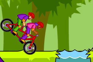 森林自行车