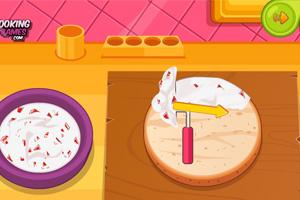 《巧克力草莓蛋糕》游戏画面1